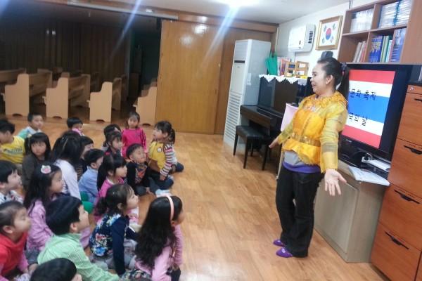 어린이집 태국의 날 행사
