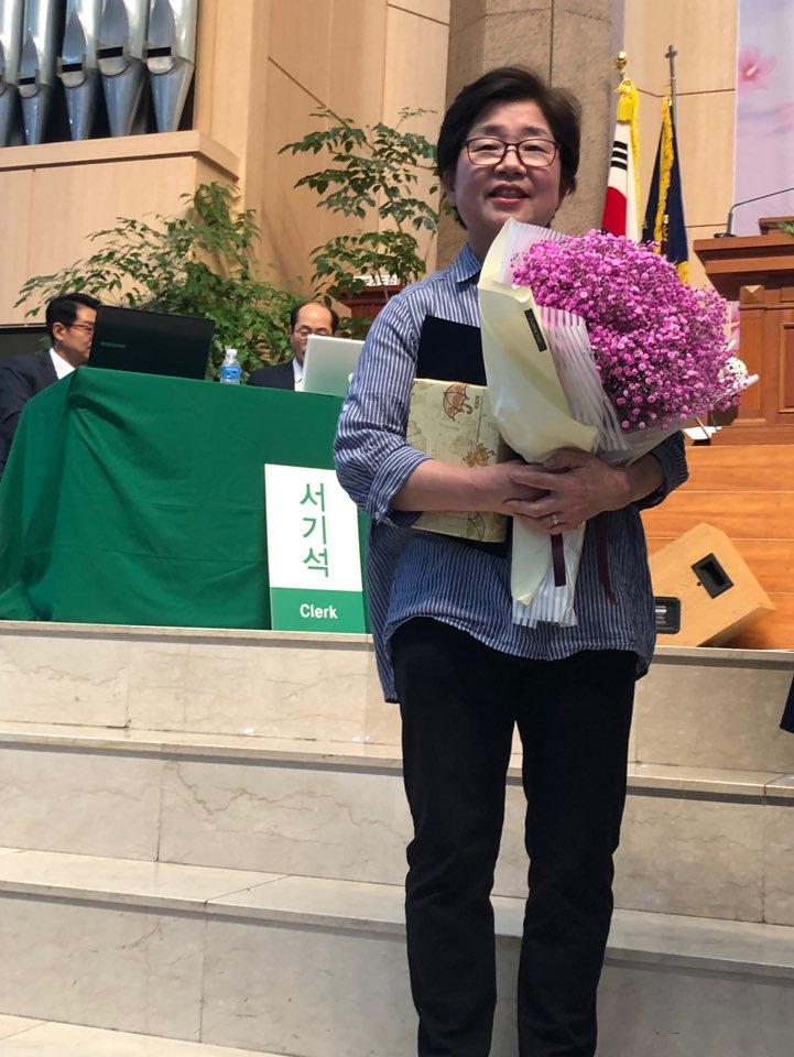 20190423. 이정례 권사님 교회학교 근속25년