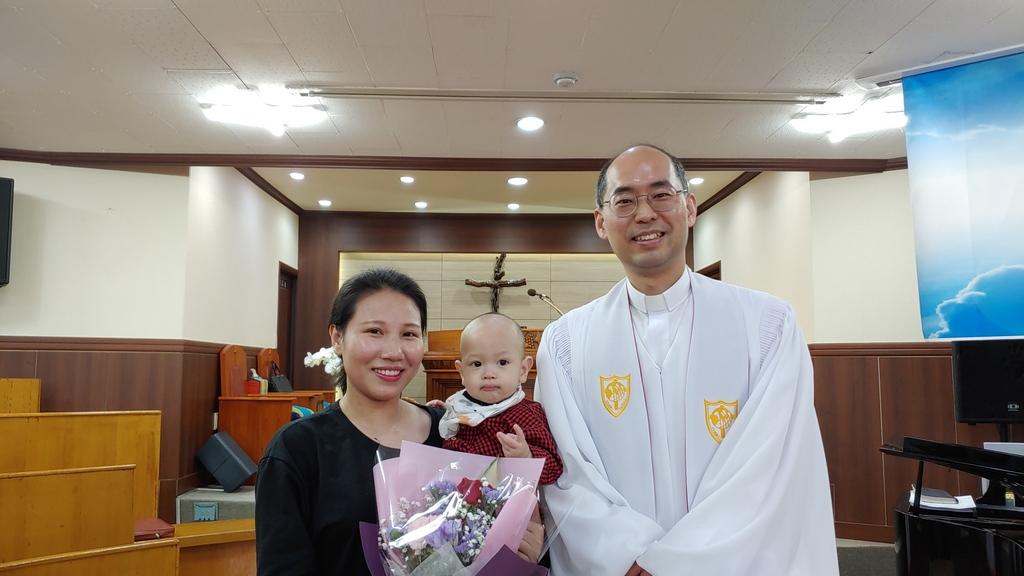 2020.04.12.부활절 온라인 예배, 유아세례